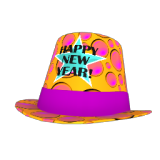 Bubbly New Year's Party Hat
