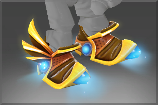 Inscribed Mecha Boots of Travel Mk III