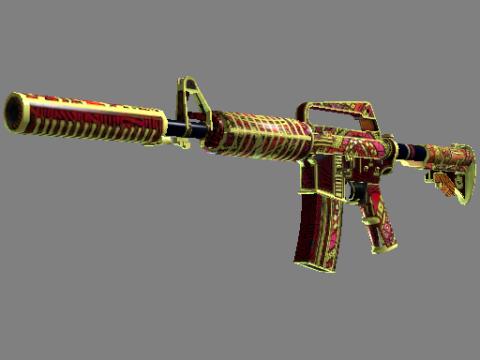 M4A1 消音型   女火神之炽焰 (久经沙场)