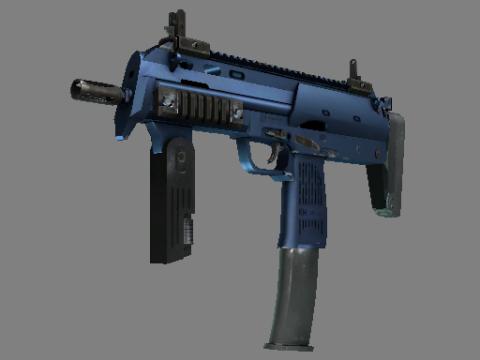 MP7   深蓝电镀处理 (崭新出厂)