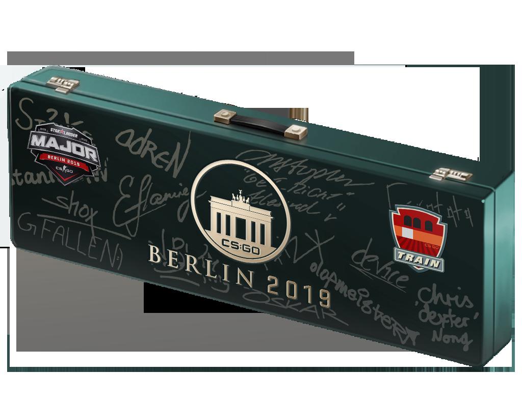 柏林 2019 列车停放站纪念包