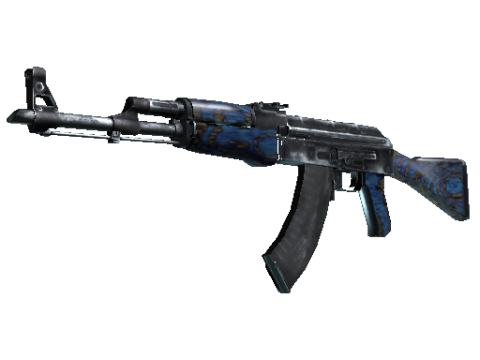 AK-47(StatTrak™) | 蓝色层压板 (久经沙场)