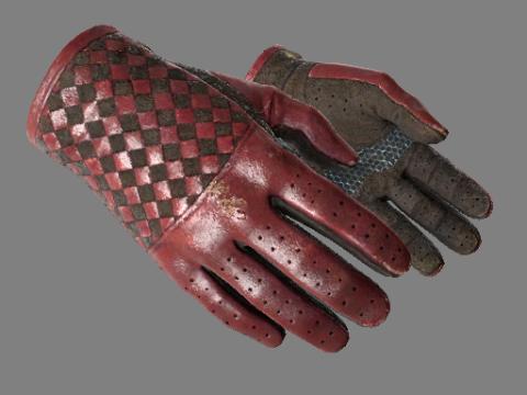 驾驶手套(★)   深红织物 (破损不堪)