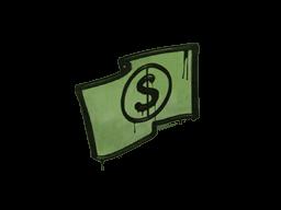 封装的涂鸦 | 美钞 (军绿)