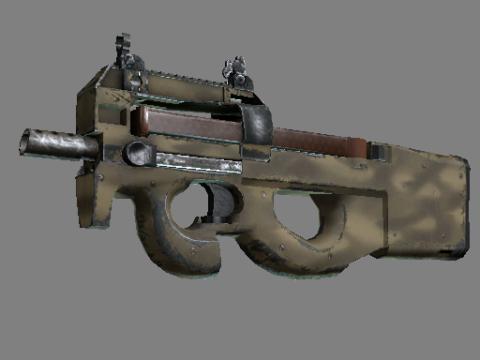 P90 | 沙漠涂装 (久经沙场)