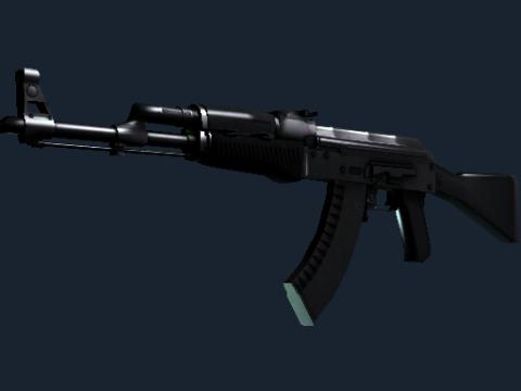 AK-47 | 墨岩 (略有磨损)