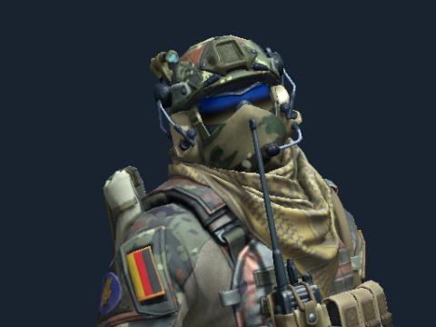 第三特种兵连 | 德国特种部队突击队