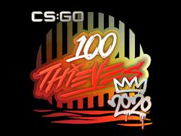 印花 | 100 Thieves | 2020 RMR