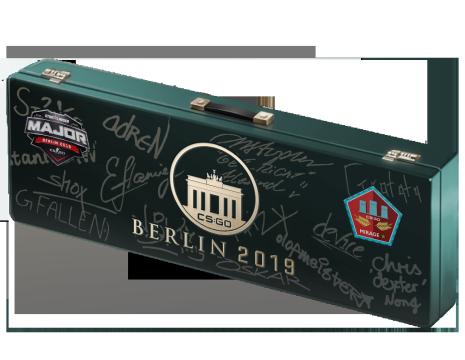 柏林 2019 荒漠迷城纪念包